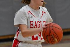 Gallery CIAC Girls Basketball; Wolcott vs. Holy Cross - Photo # 338