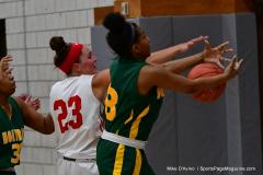 Gallery CIAC Girls Basketball; Wolcott vs. Holy Cross - Photo # 344