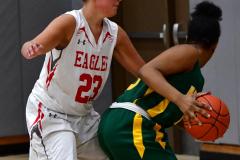 Gallery CIAC Girls Basketball; Wolcott vs. Holy Cross - Photo # 346