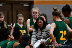 Gallery CIAC Girls Basketball; Wolcott vs. Holy Cross - Photo # 356