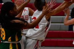 Gallery CIAC Girls Basketball; Wolcott vs. Holy Cross - Photo # 363