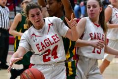 Gallery CIAC Girls Basketball; Wolcott vs. Holy Cross - Photo # 372