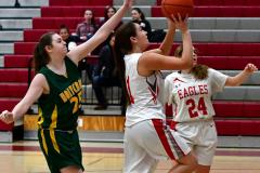 Gallery CIAC Girls Basketball; Wolcott vs. Holy Cross - Photo # 377