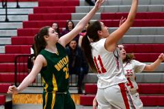 Gallery CIAC Girls Basketball; Wolcott vs. Holy Cross - Photo # 378