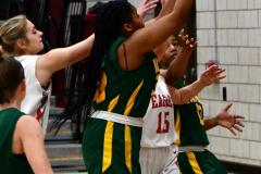Gallery CIAC Girls Basketball; Wolcott vs. Holy Cross - Photo # 403