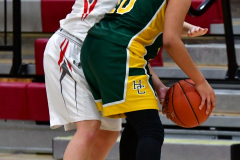 Gallery CIAC Girls Basketball; Wolcott vs. Holy Cross - Photo # 408