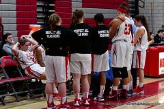 Gallery CIAC Girls Basketball; Wolcott vs. Holy Cross - Photo # 415