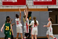 Gallery CIAC Girls Basketball; Wolcott vs. Holy Cross - Photo # 418