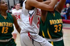 Gallery CIAC Girls Basketball; Wolcott vs. Holy Cross - Photo # 424