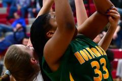 Gallery CIAC Girls Basketball; Wolcott vs. Holy Cross - Photo # 429