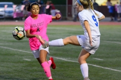 CIAC Girls Soccer; Wolcott 1 vs. Seymour 0 - Photo # (495)