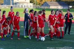 CIAC Girls Soccer; Wolcott vs. Watertown - Photo # 001