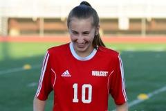 CIAC Girls Soccer; Wolcott vs. Watertown - Photo # 027