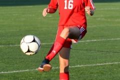 CIAC Girls Soccer; Wolcott vs. Watertown - Photo # 046