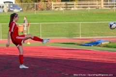 CIAC Girls Soccer; Wolcott vs. Watertown - Photo # 109