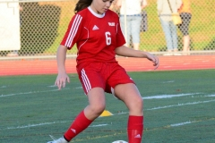 CIAC Girls Soccer; Wolcott vs. Watertown - Photo # 117