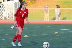 CIAC Girls Soccer; Wolcott vs. Watertown - Photo # 127