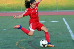 CIAC Girls Soccer; Wolcott vs. Watertown - Photo # 166
