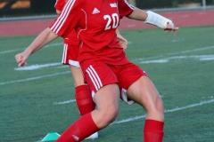 CIAC Girls Soccer; Wolcott vs. Watertown - Photo # 183