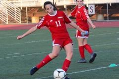 CIAC Girls Soccer; Wolcott vs. Watertown - Photo # 195