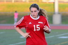 CIAC Girls Soccer; Wolcott vs. Watertown - Photo # 214