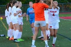 CIAC Girls Soccer; Wolcott vs. Watertown - Photo # 296