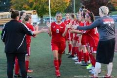 CIAC Girls Soccer; Wolcott vs. Watertown - Photo # 305