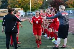 CIAC Girls Soccer; Wolcott vs. Watertown - Photo # 306