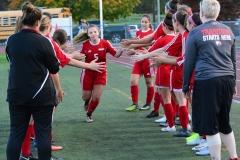 CIAC Girls Soccer; Wolcott vs. Watertown - Photo # 311