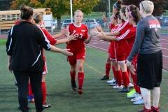 CIAC Girls Soccer; Wolcott vs. Watertown - Photo # 330