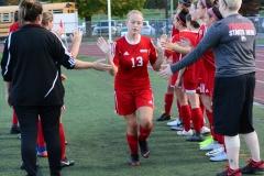 CIAC Girls Soccer; Wolcott vs. Watertown - Photo # 331