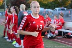 CIAC Girls Soccer; Wolcott vs. Watertown - Photo # 334
