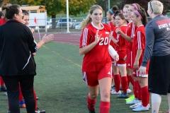 CIAC Girls Soccer; Wolcott vs. Watertown - Photo # 341