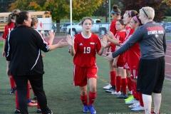 CIAC Girls Soccer; Wolcott vs. Watertown - Photo # 349