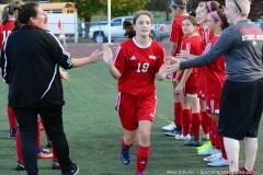 CIAC Girls Soccer; Wolcott vs. Watertown - Photo # 350
