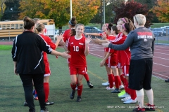 CIAC Girls Soccer; Wolcott vs. Watertown - Photo # 358