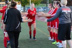 CIAC Girls Soccer; Wolcott vs. Watertown - Photo # 365