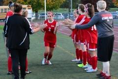 CIAC Girls Soccer; Wolcott vs. Watertown - Photo # 375