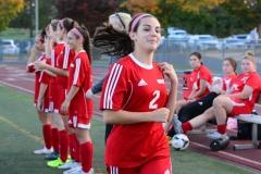 CIAC Girls Soccer; Wolcott vs. Watertown - Photo # 379
