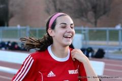 CIAC Girls Soccer; Wolcott vs. Watertown - Photo # 384