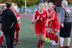 CIAC Girls Soccer; Wolcott vs. Watertown - Photo # 388