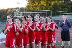 CIAC Girls Soccer; Wolcott vs. Watertown - Photo # 411