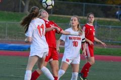 CIAC Girls Soccer; Wolcott vs. Watertown - Photo # 459