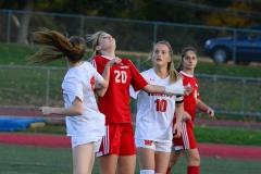 CIAC Girls Soccer; Wolcott vs. Watertown - Photo # 460