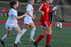 CIAC Girls Soccer; Wolcott vs. Watertown - Photo # 461