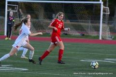 CIAC Girls Soccer; Wolcott vs. Watertown - Photo # 462