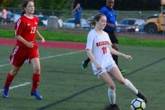 CIAC Girls Soccer; Wolcott vs. Watertown - Photo # 465