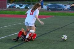 CIAC Girls Soccer; Wolcott vs. Watertown - Photo # 467