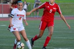 CIAC Girls Soccer; Wolcott vs. Watertown - Photo # 472