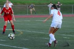 CIAC Girls Soccer; Wolcott vs. Watertown - Photo # 476